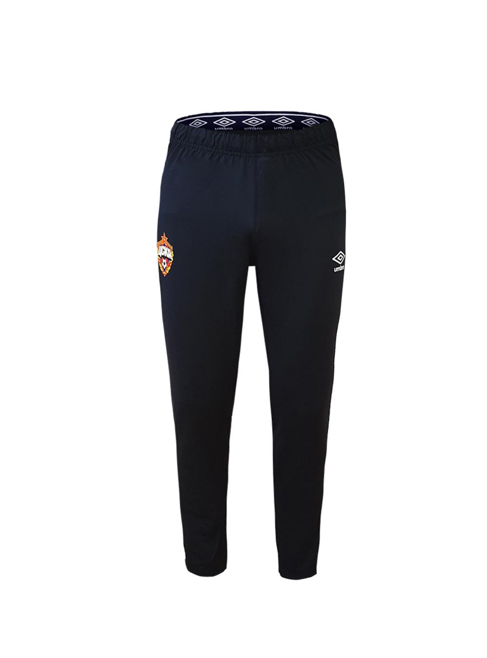 Костюм тренировочный (брюки зауженные), черный/белый (M) фото