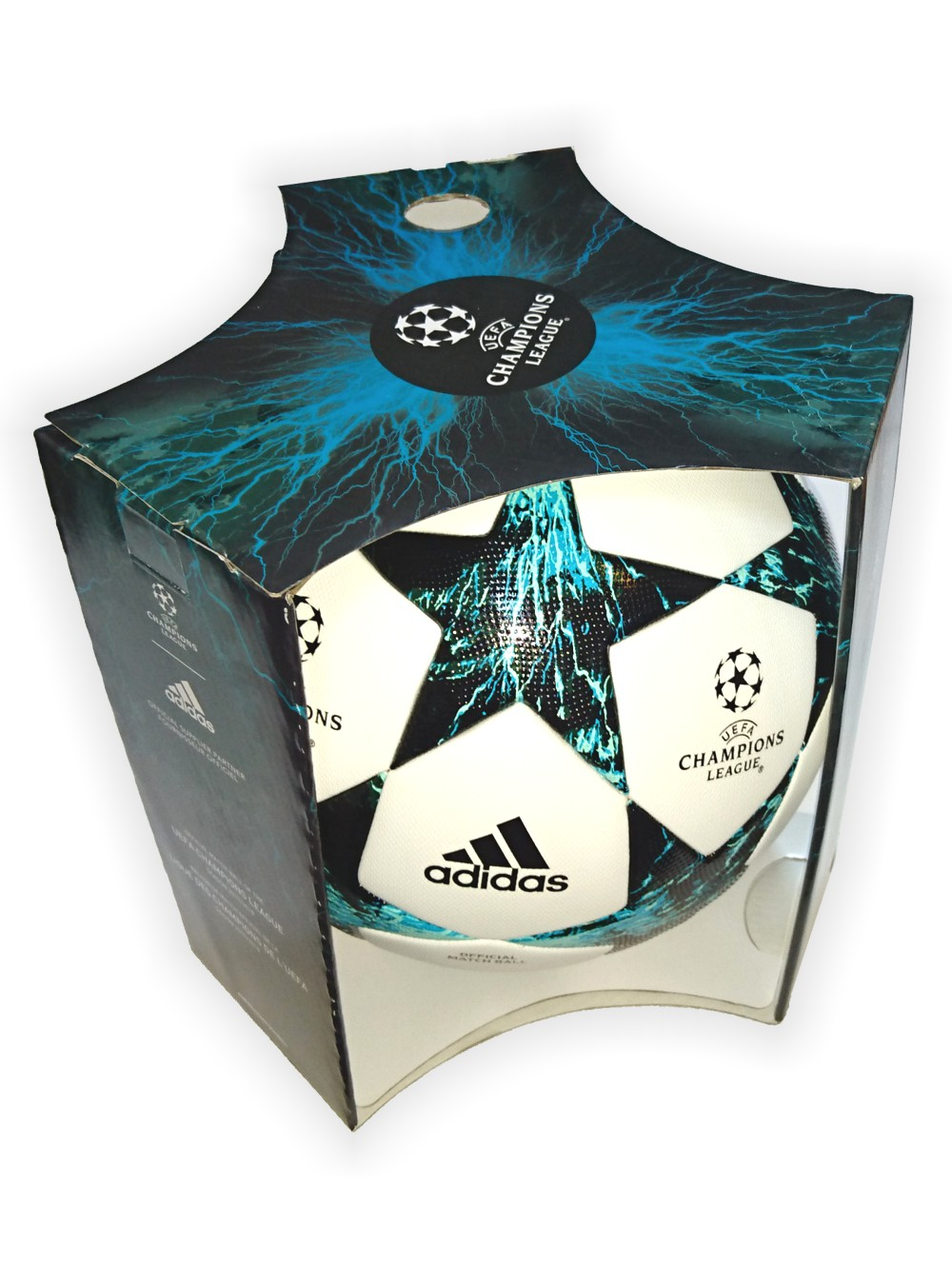 af49490b96f0 Football ball Adidas UEFA Champions League FINALE 17 OFFICIAL ...