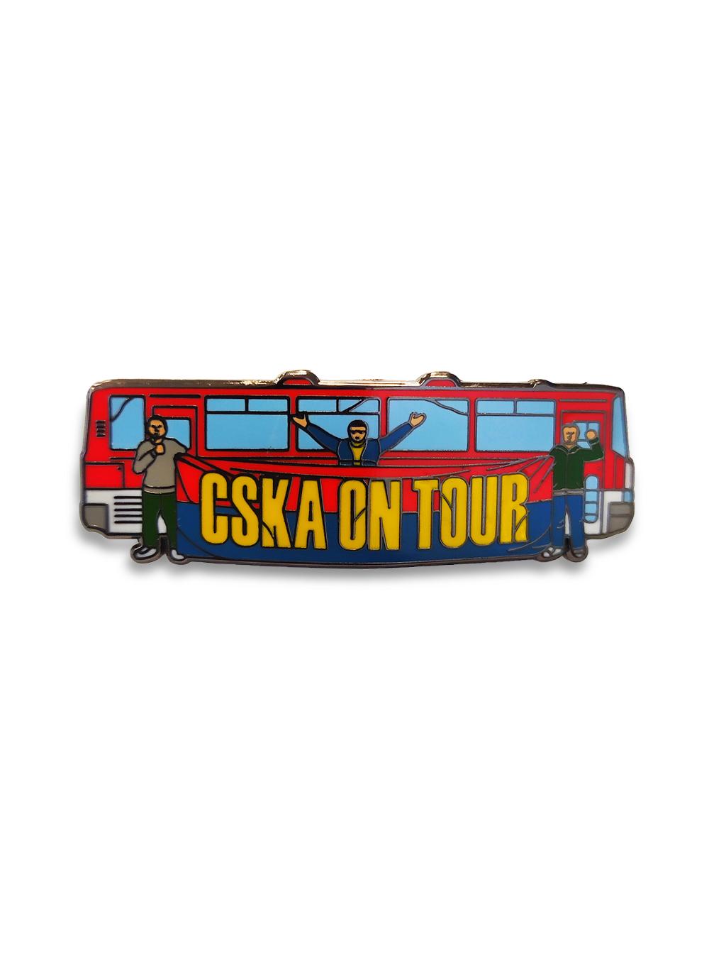Коллекционный значок CSKA ON TOUR фото
