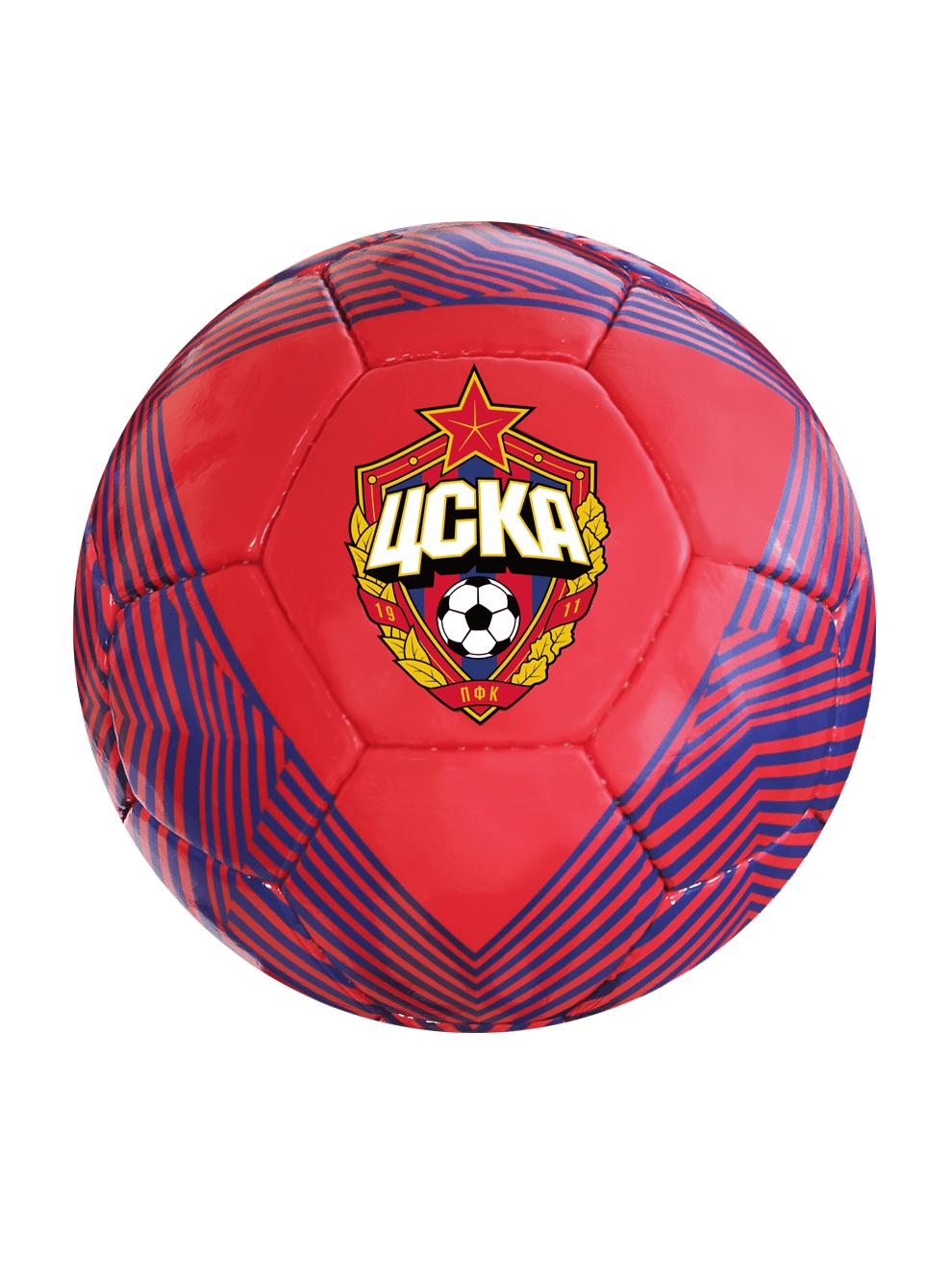 Мяч сувенирный ЭМБЛЕМА,  размер 5, цвет красный