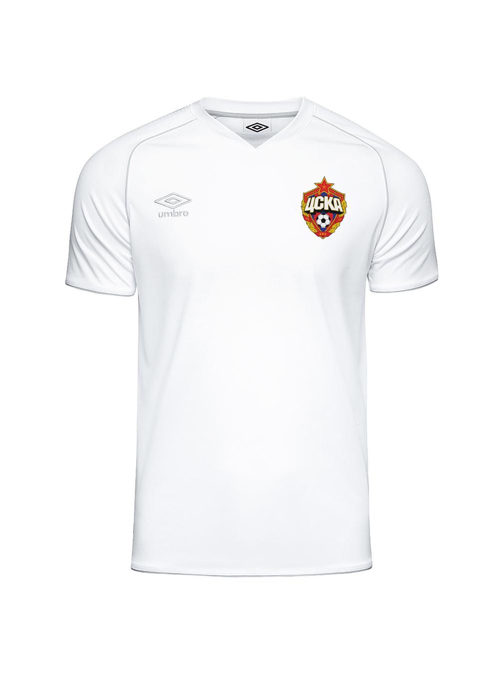 Футболка тренировочная ХБ, белый/светло-серый (XXL)