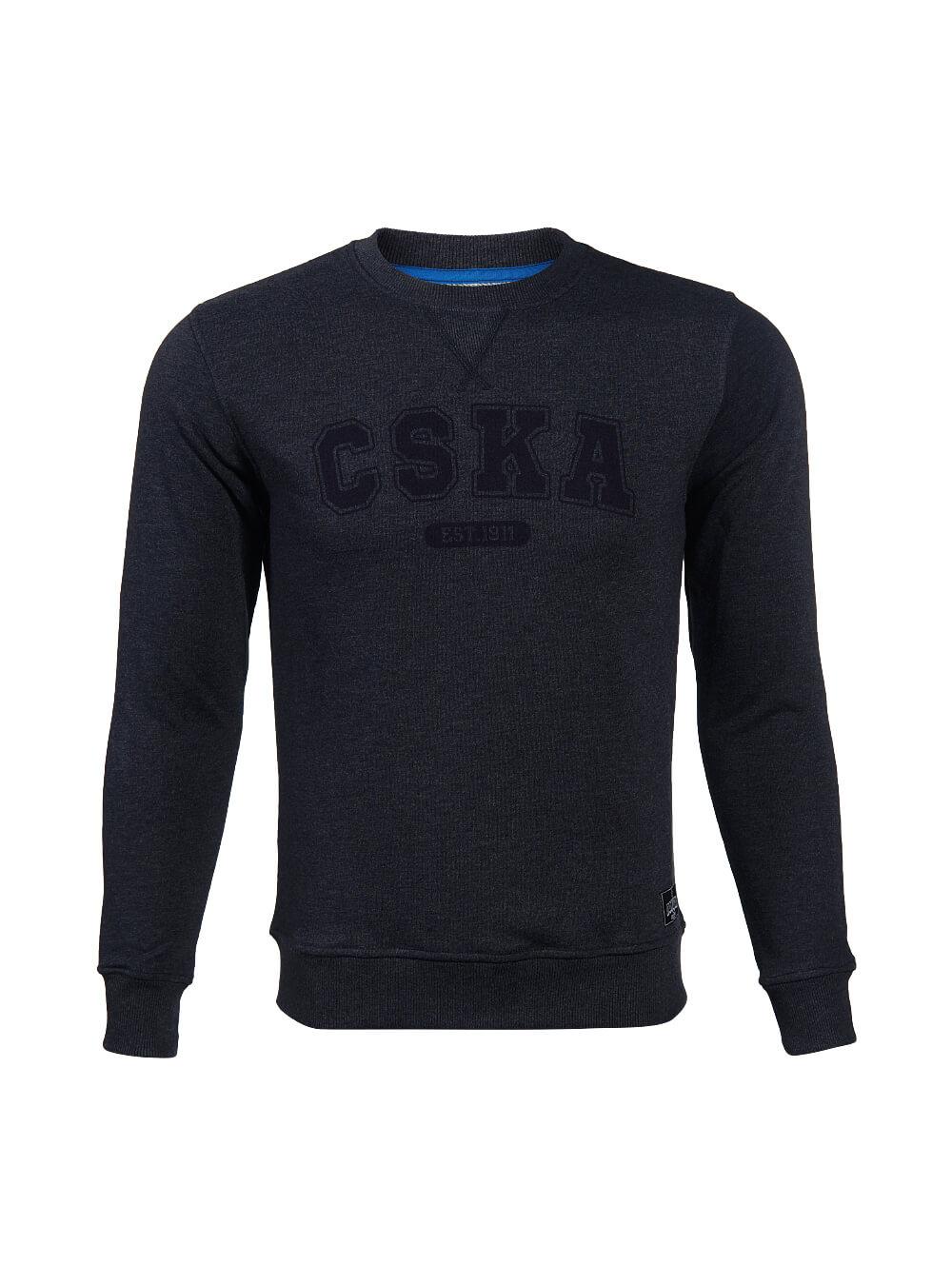 Свитшот CSKA. Est 1911, цвет синий. (M)Толстовки мужские<br>Свитшот CSKA. Est 1911, цвет синий.<br>