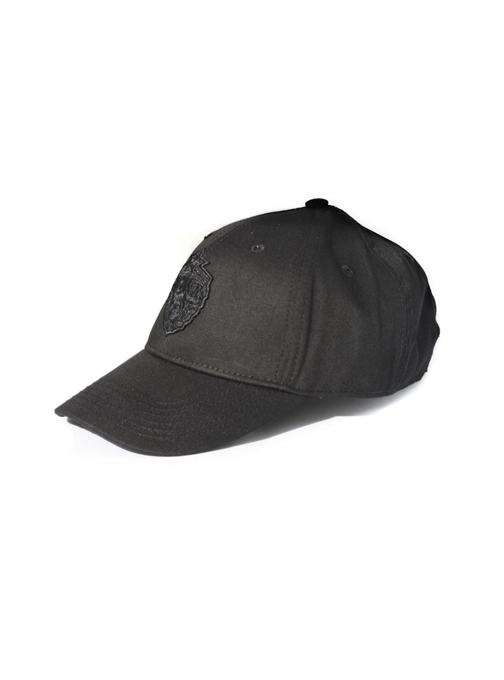 Бейсболка детская Blank Plain X PFC CSKAс эмблемой, цвет черный ПФК ЦСКА
