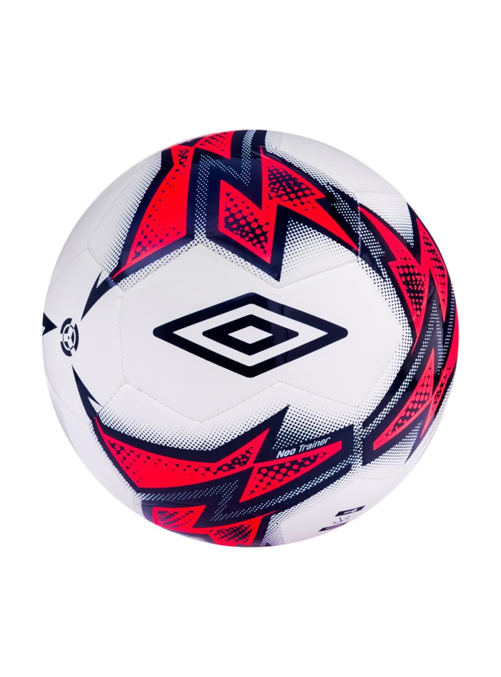 Мяч футбольный белый/темно-синий/розовый (NEO TRAINER)