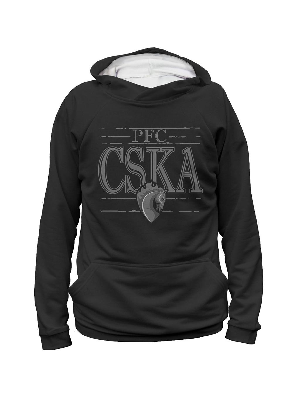 Худи женский PFC CSKA. Талисман (XL)Одежда на заказ<br>Худи женский PFC CSKA. Талисман<br>