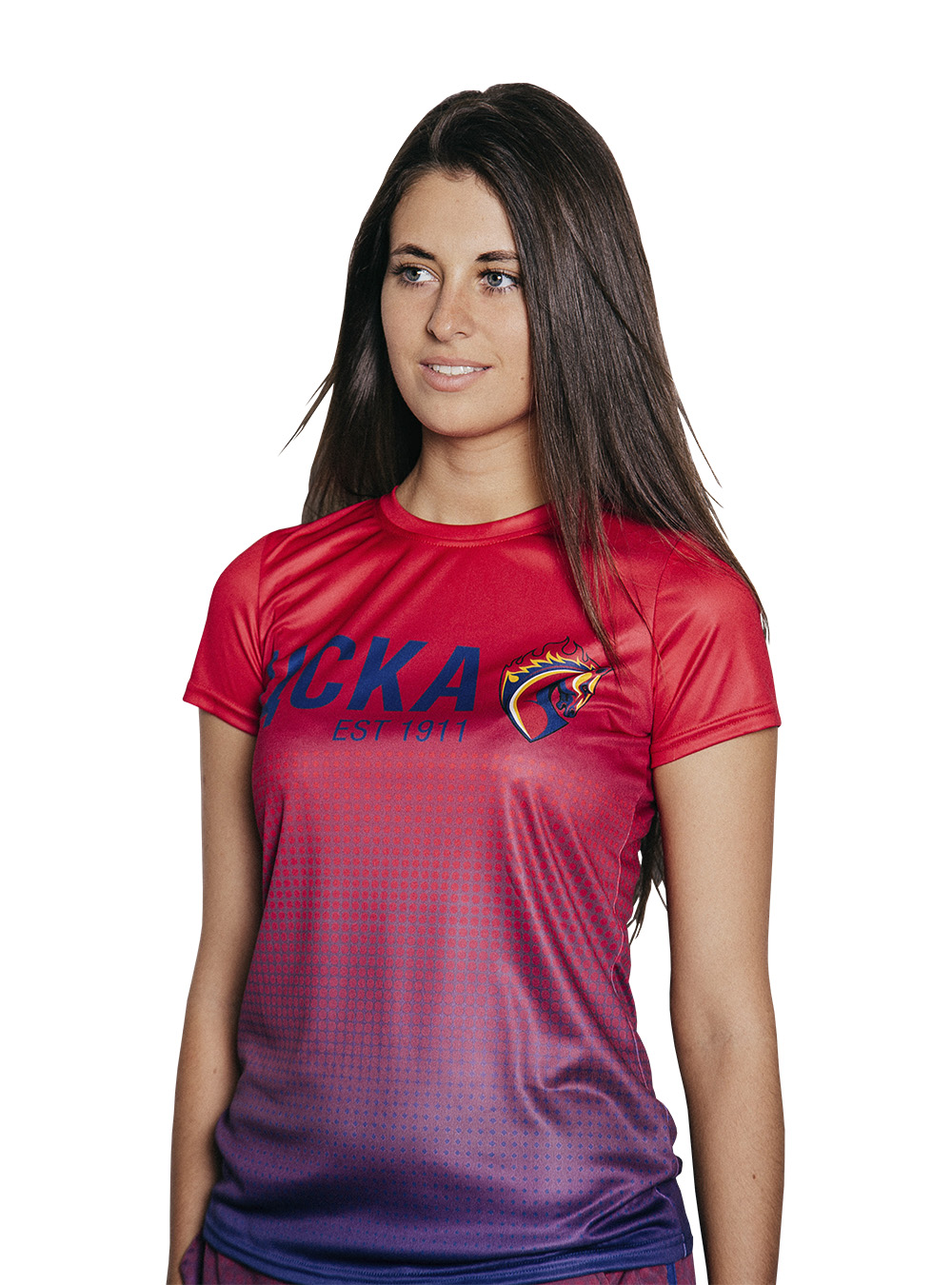 Футболка женская Градиент (S)Одежда на заказ<br>Футболка женская Градиент<br>