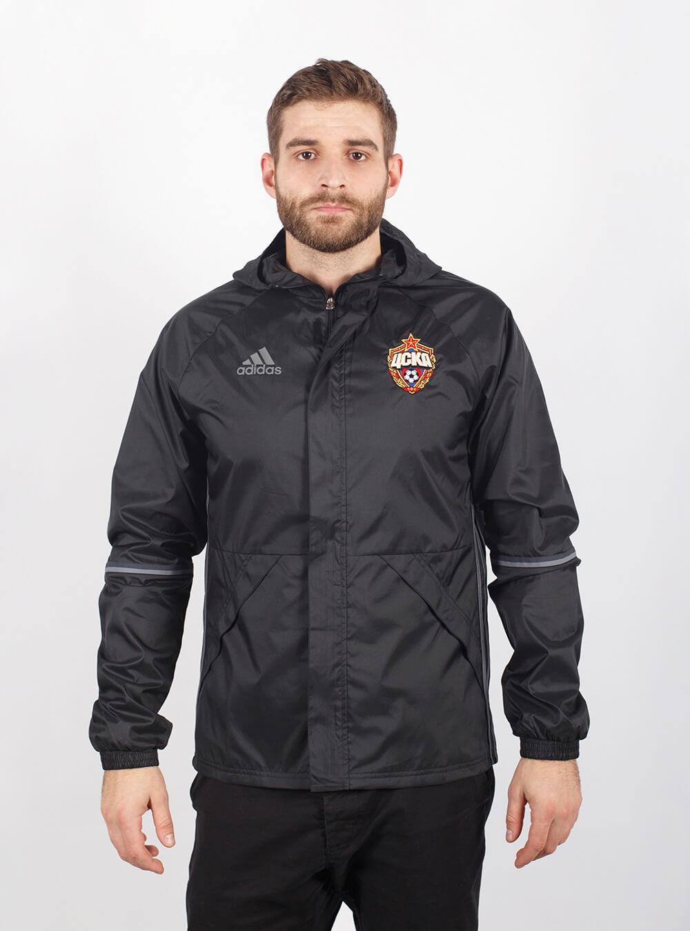 Куртка ветрозащитная (L)Распродажа Adidas<br>Куртка ветрозащитная<br>