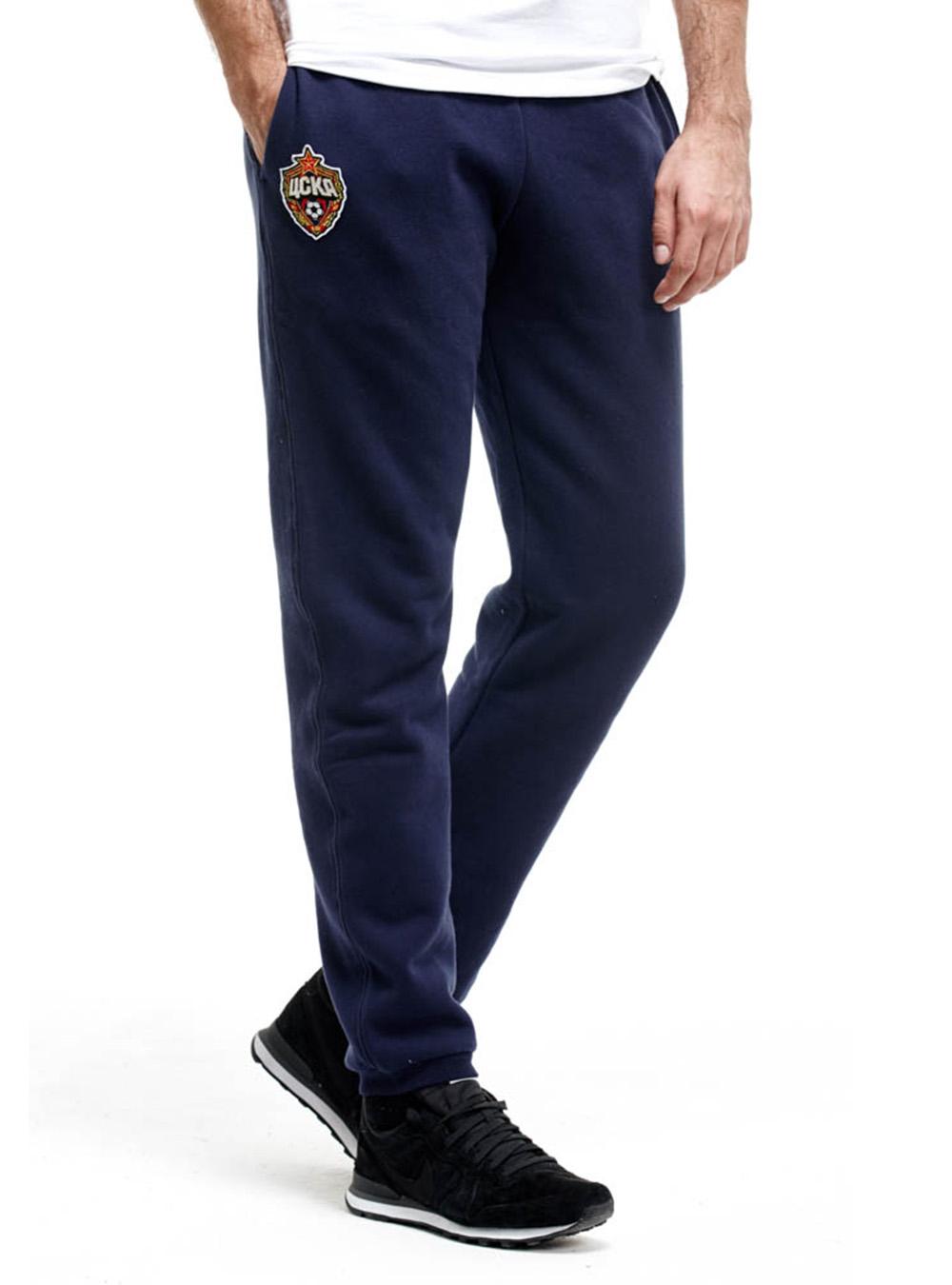 Брюки спортивные эмблема (149270), цвет синий (XL)Брюки, шорты<br>Брюки спортивные эмблема (149270), цвет синий<br>