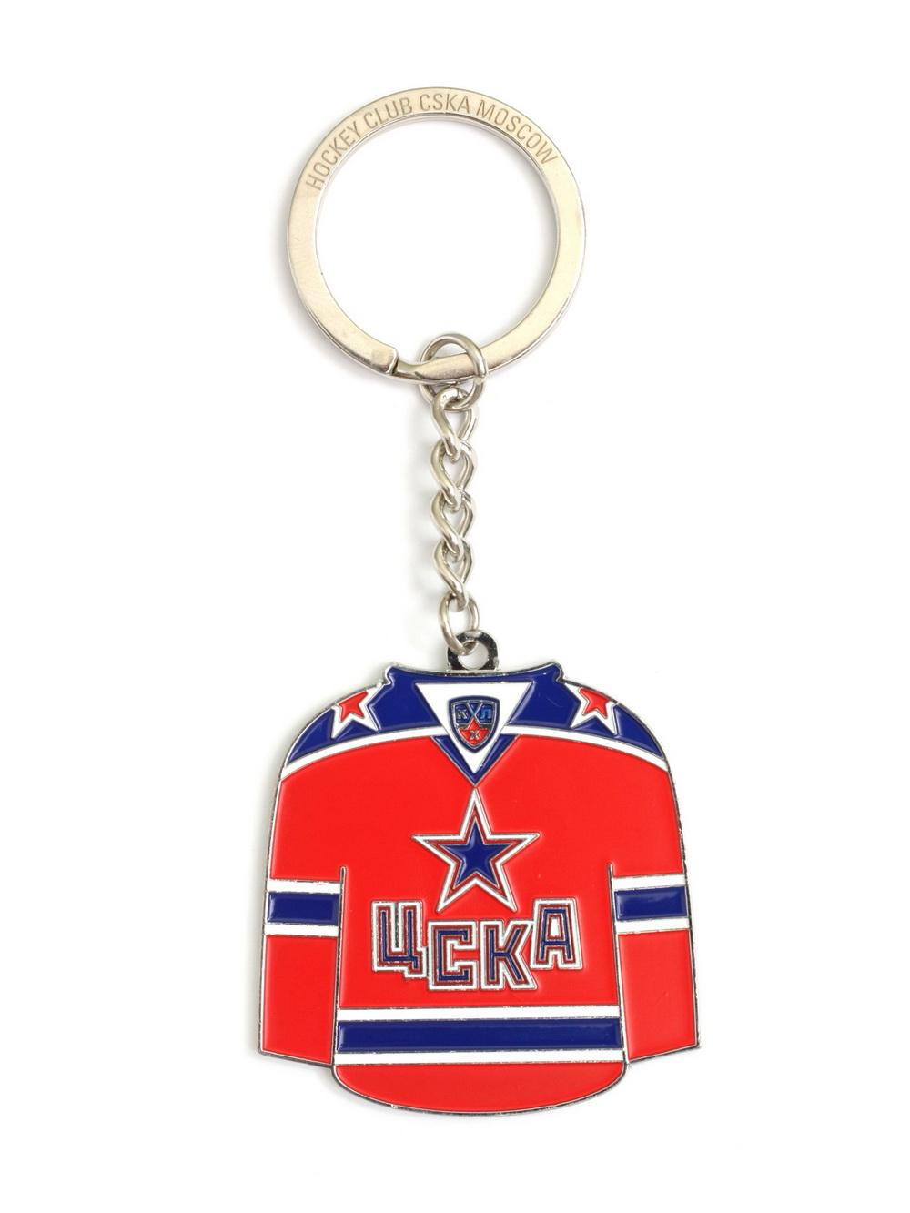 Брелок ХК ЦСКА №1 (майка) фото