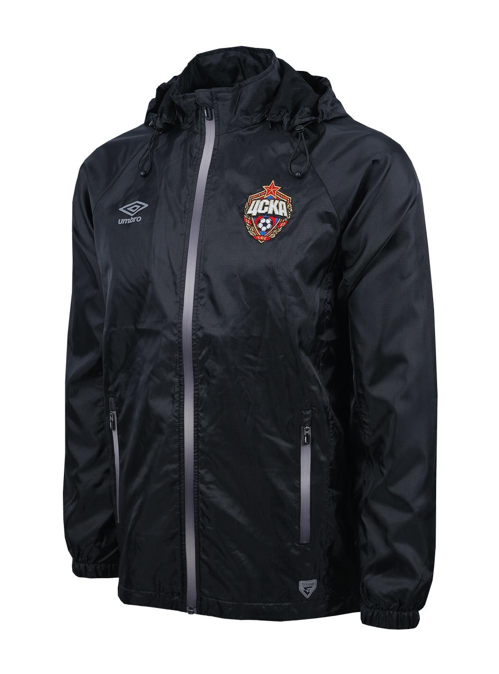 Костюм ветрозащитный (куртка), черный/серебро (M) фото