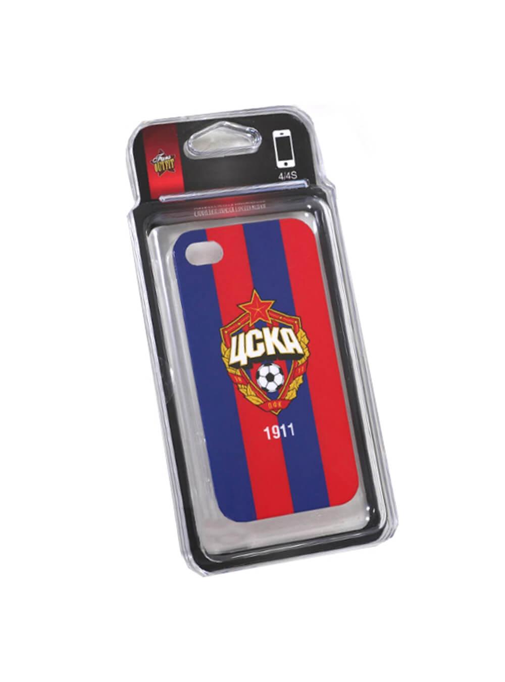 Клип-кейс для iPhone 4/4S красно-синийВсе для мобильного телефона<br>Клип-кейс для iPhone 4/4S красно-синий<br>