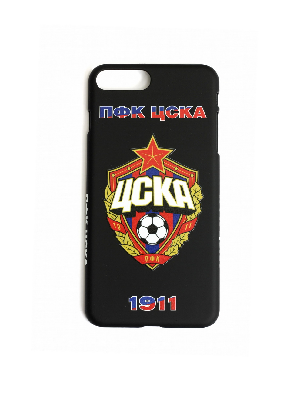 Клип-кейс ПФК ЦСКА 1911 для iPhone 7+/8+ чёрный фото