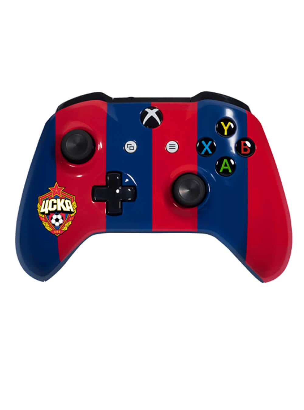 Беспроводной контроллер Xbox One Красно-синийИгровые приставки<br>Беспроводной контроллер Xbox One Красно-синий<br>