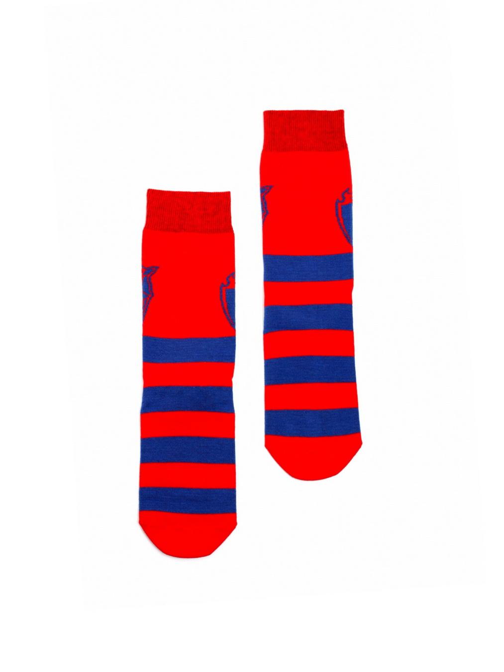 Носки детские Талисман, цвет красно-синий (35-36) фото