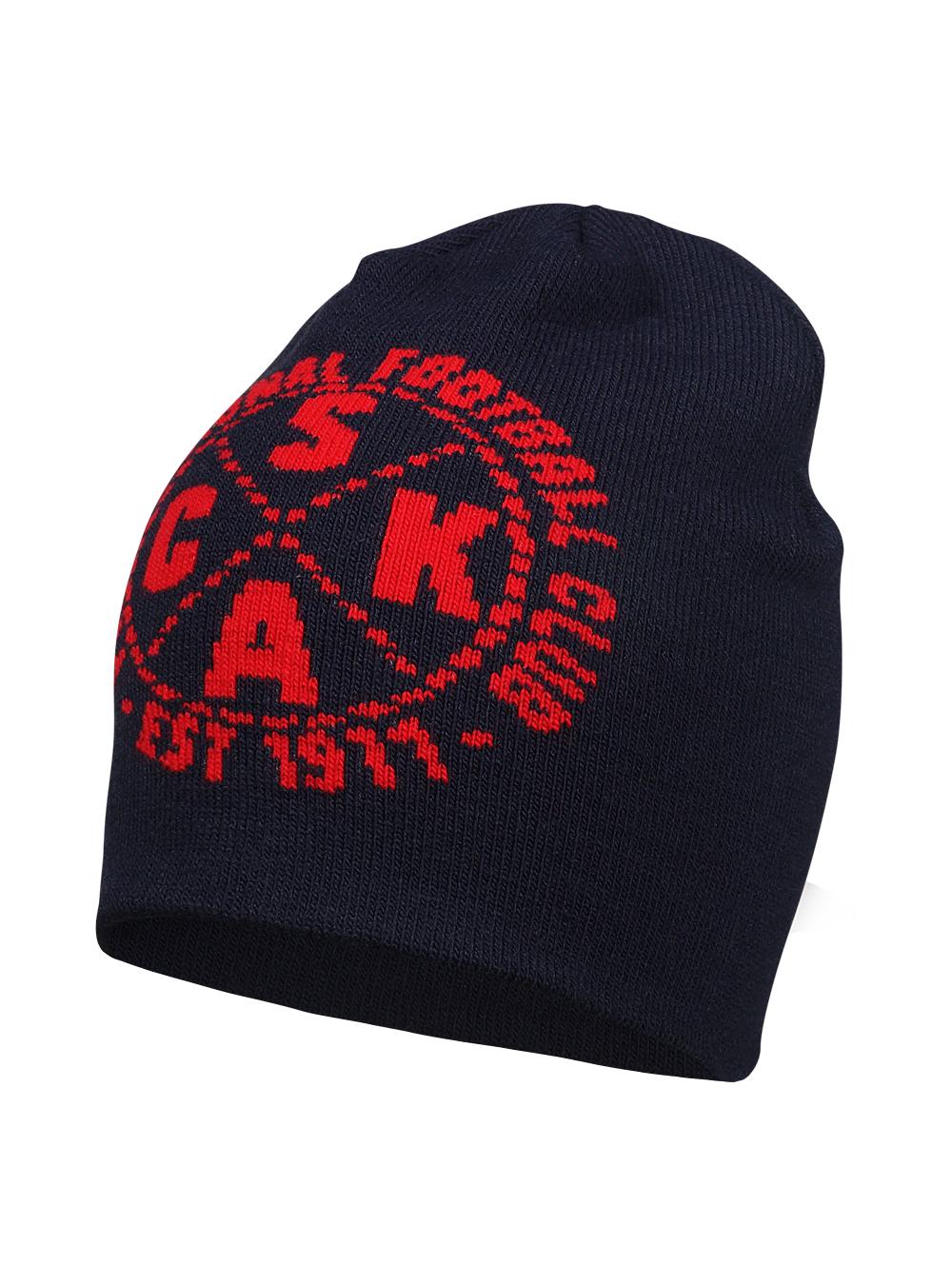 Шапка PFC CSKA est 1911, цвет синий фото