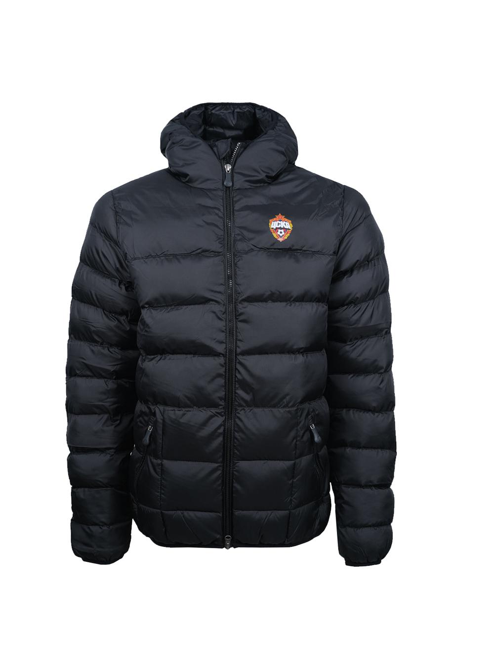 Куртка утеплённая, цвет чёрный (M) фото
