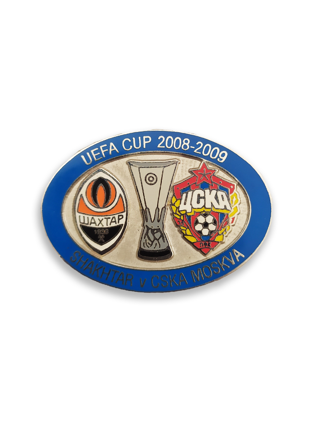 Коллекционный значок Кубок УЕФА 2008-2009 1/8 финала фото