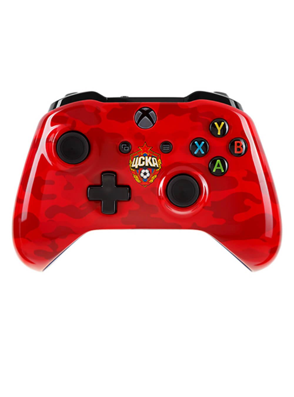 Беспроводной контроллер Xbox One Красно-армейскийИгровые приставки<br>Беспроводной контроллер Xbox One Красно-армейский<br>