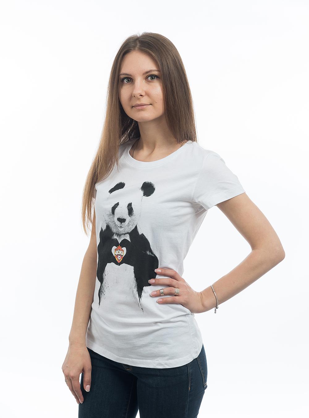 Футболка женская Панда (XS)Футболки женские<br>Футболка женская Панда<br>