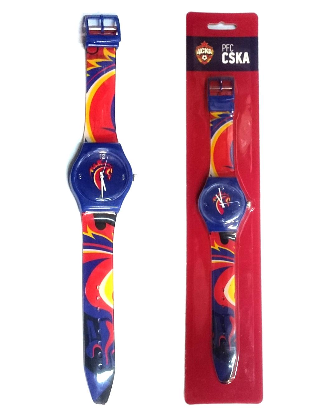 Часы наручные 33мм Талисман, красно-синий ремешокЧасы<br>Часы наручные 33мм Талисман, красно-синий ремешок<br>