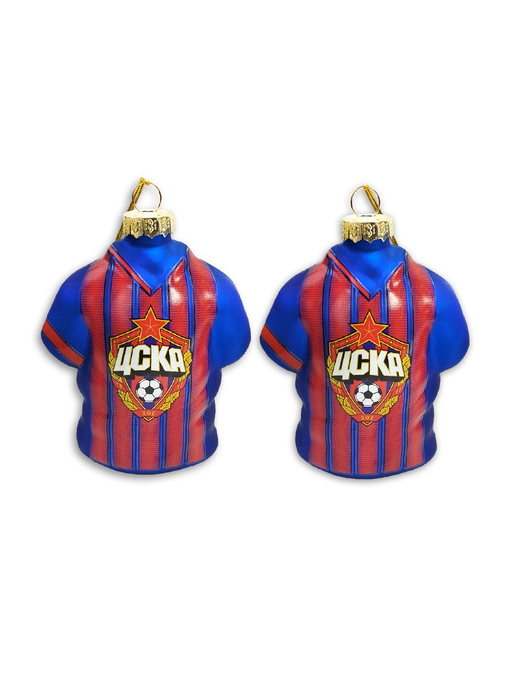 Набор ёлочных игрушек PFC CSKA (2 шт.)